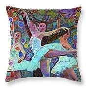 Ballet Carnival Throw Pillow