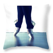 Ballet Feet 1 Throw Pillow
