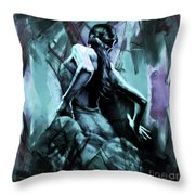 Flamenco Dancer Art 56yt Throw Pillow