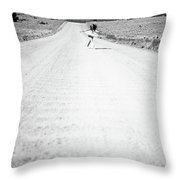 Ballet Runaway Throw Pillow