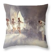 Ballet Studio  Throw Pillow