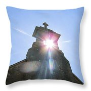 Ballinafad Blessing / Reflections Of The Light Through Time Throw Pillow