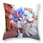 Balloon Boy Throw Pillow