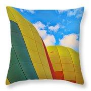 Balloon Fantasy 25 Throw Pillow