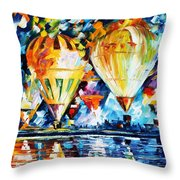 Balloon Festival New Throw Pillow