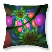 Balloonatic Throw Pillow