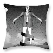 Balloons And Surrealism 3 Throw Pillow