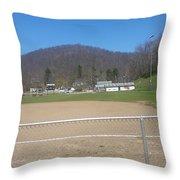 Ballpark Throw Pillow