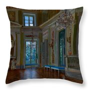 Ballroom Of The Lazienki Palace Throw Pillow