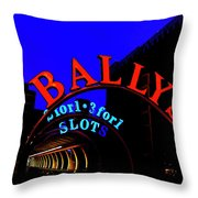 Ballys Early Morning Throw Pillow