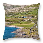 Ballyvaughan Ireland Throw Pillow