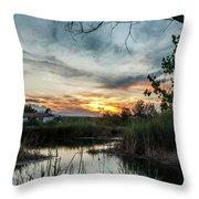 Balmorhea Sunset Throw Pillow