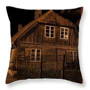 Baltic Houses Throw Pillow