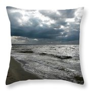 Baltic Sea 2017 Throw Pillow