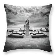 Baltic Sea Ruegen - Seaside Resort Binz Throw Pillow