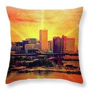 Baltimore Horizon Throw Pillow
