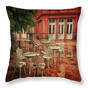 Baltimore Rain Throw Pillow