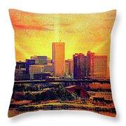 Baltimore Sunrise Throw Pillow
