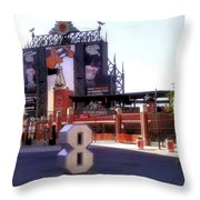 Baltimore's Yard Throw Pillow