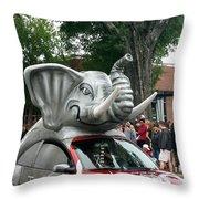 Bama Beetle Throw Pillow