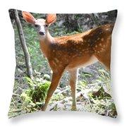 Bambi1 Throw Pillow