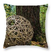 Bamboo Ball Throw Pillow