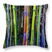 Bamboo Dreams #13 Throw Pillow
