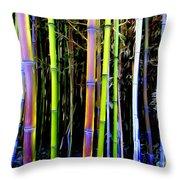 Bamboo Dreams #14 Throw Pillow
