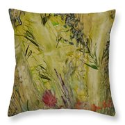 Bamboo In The Forest Throw Pillow
