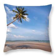 Ban Harn Beach Throw Pillow