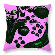 Bananas Are Not The Only Fruit Purple Throw Pillow