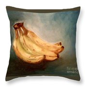 Bananas Bananas Bananas  Throw Pillow