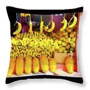 Bananas, Belize  Throw Pillow