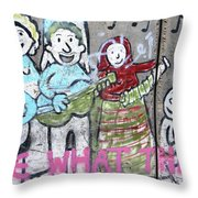 Band Throw Pillow