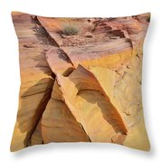 Band Of Gold In Valley Of Fire Throw Pillow