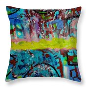 Band Of Gold Throw Pillow