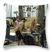 Band Playing 2 Throw Pillow
