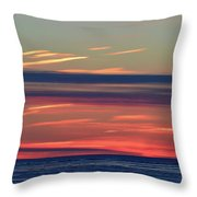 Bands Of Colour  Throw Pillow