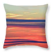 Bands Of Colour Three  Throw Pillow