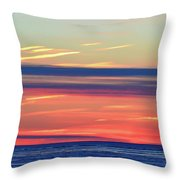 Bands Of Colour Two  Throw Pillow