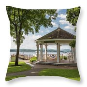 Bandstand Throw Pillow