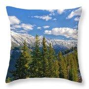 Banff Gondola Throw Pillow