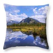 Banff Reflection Throw Pillow