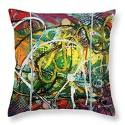 Bang It Out Throw Pillow