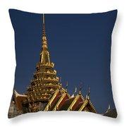 Bangkok Grand Palace Throw Pillow