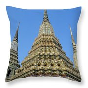 Bangkok, Wat Po Throw Pillow