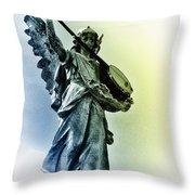 Banjo Heaven Throw Pillow