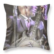 Banjo Jones Throw Pillow