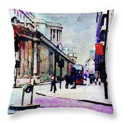 Bank Throw Pillow