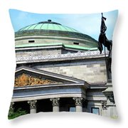 Bank Of Montreal Dome Throw Pillow